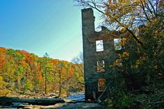 State-by-State Guide to the Best Fall Color: Sweetwater Creek Staet Park Fall Color
