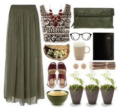 """""""Wood"""" by c-h-i-a-r on Polyvore featuring Phase Eight, Classic Coffee & Tea by Yedi, Forever 21, ASOS, Gianni Chiarini, Barneys New York, Cost Plus World Market and Carolina Bucci"""