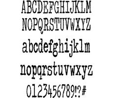 Colour me purple font by Kimberly Geswein  #fonts #typewriter #typography #ttf #design #webdesign #font #typeface