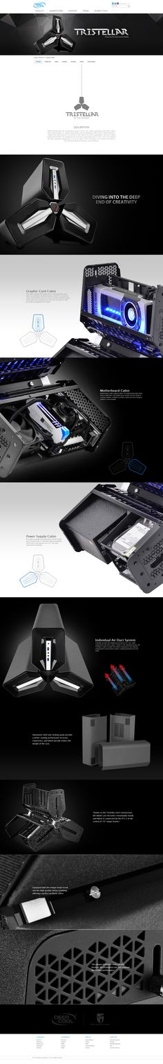 TRISTELLAR BY DEEPCOOL CASE http://amzn.to/2pfClkD