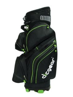 Clicgear B3 Cart Bag (Black/Lime) by Clicgear. $198.80. The Clicgear B3 Cart Bag is specifically designed to integrate with all models of Clicgear Carts.  No-twist bottom keeps bag secure in cart.  Unique top organizer stages clubs and keeps clubs from banging on each other. 12 functional pockets, including a removable cooler pocket and a hidden first aid and valuables pockets.  Rubberized strap at top of bag eliminates bag wear from cart straps.  Convenient easy-push ba...