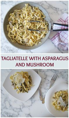 We love pasta very much and we eat it quite often in a lot of ways. Mushroom and asparagus go so well together and the final result is a delicious meal. And also this dish is very easy to make, it …