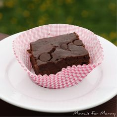 """The Legendary Black Bean Brownie - not as good as the coconut version, but still yummy. They have a spongier texture as well, and turned out more like """"cake"""". Only baked for 25 mins as well and were perfect"""