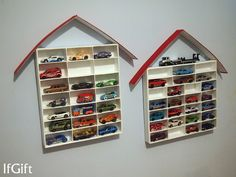 garage/ house for hot wheels