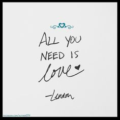 A little #Lennon love logic for this #Monday morning!  ::: #love #logic #morning #JohnLennon #lovequotes #sunrise #AM #quotestagram #quote #quotes #instagram #instaquote #instalove #quoteoftheday #quotestoliveby #quotesdaily #handwriting #handwritten #heart #hearts #heartstagram #allyouneedislove