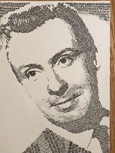 Peter Alexander Kalligraphie