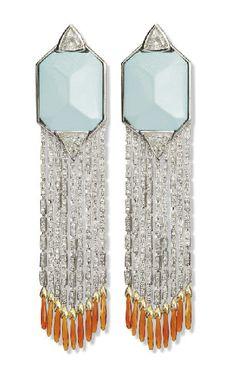 Deco Earrings, 1920s  Christie's