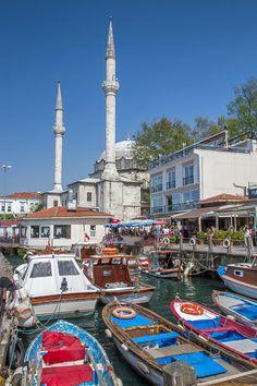 hafen von beylerbeyi, istanbul, üsküdar
