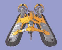 saturday hovercraft by crrrutch