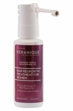 One of the qualities of Keranique Thickening & Texturizing Mousse is that it nourishes hair roots and provides a natural looking lift to limp hair. The mousse is absolutely non-sticky.