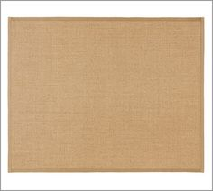 love this rug from pottery barn - natural, small detail around edge of rug. $399 for a 9x12