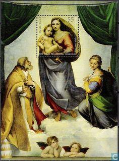 Postage Stamps - Germany, Federal Republic [DEU] - 500 years Sistine Madonna