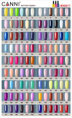 #30917W Canni Gel Polish 7.3ml 207 Colors Nail Art Gel Polish UV LED Nail Gel Polish