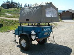I just picked a up Mombasa roof top tent today and I am hoping to get a military trailer when I find a good one locally. & Expeditions West: Adventure Trailers: Chaser Off-Road Expedition ...