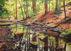 Spring Reflections | Mobile Artwork Viewer