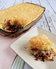 Ovenschotel zuurkool met puree en gehakt - Homemade by Joke