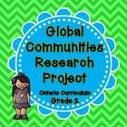 This is a culminating task for the Global Communities unit in the Grade 2 Ontario Social Studies curriculum.  It is a report outline that asks stud...