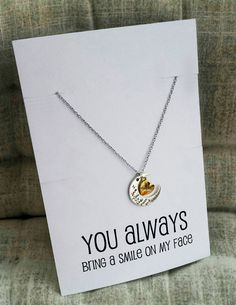Love you Penadnt You Bring Smile to my Face special gift pendant jewelry fashion necklace