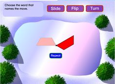 slide, flip, and turn great link to an interactive game