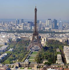 Eiffel Tower in Paris - most visited attraction in the most visited country (source: wiki)