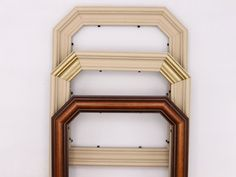 Your place to buy and sell all things handmade Unique Picture Frames, 8x10 Picture Frames, Wood Molding, Natural Wood Finish, Vintage Wood, Art Deco Fashion, Vintage Prints, Custom Framing, Choices