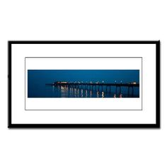 Small Framed Print of the Pier at Deal, UK