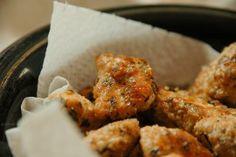 sesame meal nuggets nuggetsy z mąką sezamową
