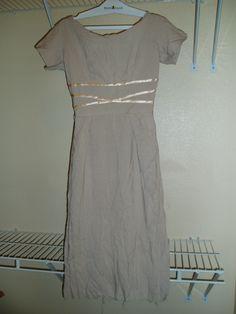 FOUND YESTERDAY!  TRUE VINTAGE 1950'S DAY DRESS
