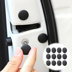 Car Door Lock Screw Protector Cover Price: $ 5.00 & FREE Shipping #darstyles Kia Sorento, 3008 Peugeot, Peugeot 206, Ford Focus, Kia Rio 2017, Nissan, Car Door Lock, Car Supplies, Passat B5