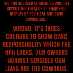Gun Control Now, NRA is only thinking about selling more GUNS! NOT OUR CHILDREN'S  LIVES!