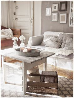 PIENI PILVENHATTARA Decor, Sweet Home, Interior Inspiration, Furniture, Interior, Contemporary Farmhouse, Home Decor, Room, White Decor