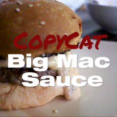 Big Mac Sauce Recipe - Big Mac Sauce Recipe (Copycat) ready in 5 minutes! This is a small batch recipe but you can double - Big Mac Sauce Recipe Copycat, Burger Sauces Recipe, Best Sauce Recipe, Burger Recipes, Sauce Recipes, Mexican Food Recipes, Cooking Recipes, Big Mac Special Sauce Recipe, Pizza Recipes