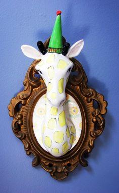 Giraffe portrait ( 13 x 20cm) : R 650