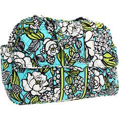 Vera Bradley - Baby Diaper Bag ISLAND BLOOMS