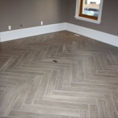 herringbone tile floor. Herringbone Grey Plank Tile For Mudroom And First Floor Bath, Beautiful Elegant, Modern Rustic G
