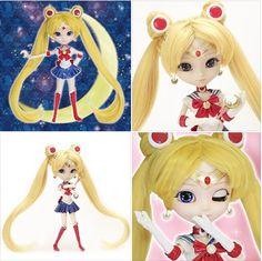 Sailor Moon Pullip (Incluye un mini Nuigurumi de Luna y el Moon Stick)  Tamaño: 310mm Precio: *17280 yenes *precio del articulo. tasas no incluídas RESERVA EL TUYO YA!: http://todoke.jp.net/order.html