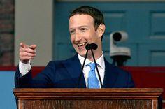 Mark Zuckerberg Positions Himself As The Anti-Trump In Speech To Harvard