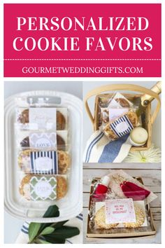 A surprise treat your guests will love. Wedding party favors. Wedding party favors ideas for guest. Inexpensive wedding favor ideas. Edible party favors for wedding. Wedding favors in bulk. Elegant wedding favors. Wedding gift basket ideas. Cheap ideas for wedding favors. Rustic wedding favor ideas. Personalized party favors. Inexpensive favors for wedding parties. #weddinggift #eventfavors #weddingfavors #weddingfavor #uniquefavors #weddingideas #uniquegiftideas Edible Party Favors, Cookie Wedding Favors, Cookie Favors, Wedding Party Favors, Wedding Gifts, Inexpensive Wedding Favors, Elegant Wedding Favors, Unique Weddings, Personalized Cookies