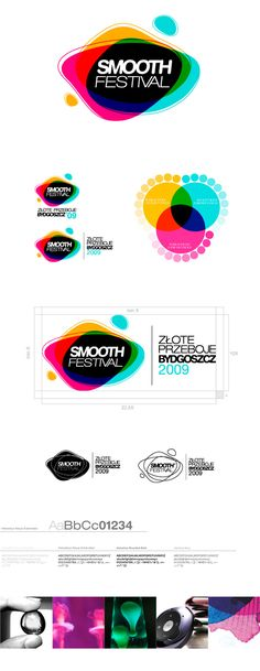 Very colorful. draws attention while clearly showing what the logo represents
