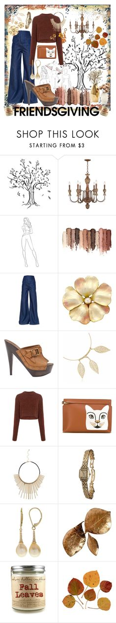 """""""Baby It's Fall Outside"""" by callmejupiter ❤ liked on Polyvore featuring Kathy Ireland, tarte, Esteban Cortazar, Burberry, Nate Berkus, TIBI, Loewe and Cartier"""