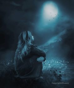 With The Moon by Laura-Graph on DeviantArt