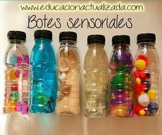 Educación Preescolar, la revista: Botes sensoriales