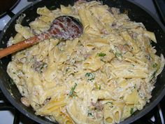 Pasta Noodles, Breakfast Recipes, Healthy Lifestyle, Food Porn, Food And Drink, Sweets, Meat, Chicken, Cooking