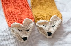 ELODIA: SÖPÖ KETTUHUIVI (OHJE) // CUTE FOX SCARF