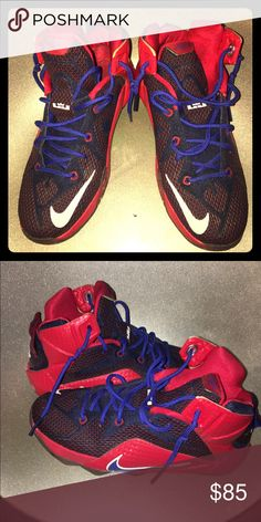 Boys/Youth Nike Lebrons sneakers Worn 1x. Size 5.5 Y Lebron 11 Nike Shoes Sneakers