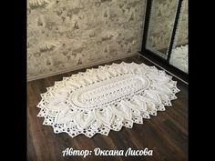 ideas for crochet lace beginner hooks Crochet Mat, Crochet Carpet, Crochet Home, Crochet Doilies, Mandala Crochet, Crochet Baby Beanie, Baby Afghan Crochet, Crochet Pillow, Kids Knitting Patterns