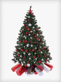 scarlet sparkle artificial tree available to rent from christmas rentals ltd christmas tree - Rent A Christmas Tree