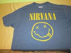 NIRVANA  Concert Tour T Shirt Sz XXL 2XL - Gray #SixFiftyOne #GraphicTee