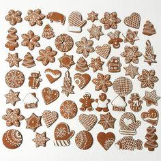 Christmas Desserts, Christmas Baking, Winter Christmas, Christmas Holidays, Gingerbread Decorations, Gingerbread Cookies, Christmas Decorations, Christmas Cookies, Christmas Ornaments