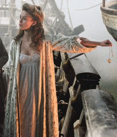 The Pirates of the Caribbean 1:The Curse of the Black Pearl. Elizabeth Swann